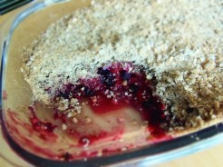 crumble sG fruits rouges