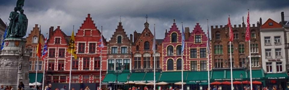 Một góc của quảng trường Markt