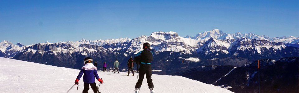 Trượt tuyết trên đỉnh Semnoz