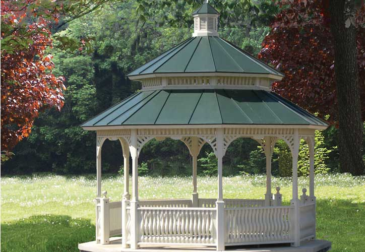 Wooden Garden Gazebo for Sale  Vixen Hill