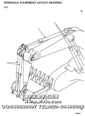 小松PC1250-7,PC1250SP-7,PC1250LC-7挖掘机维修资料服务手册