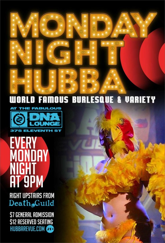 4/6 Monday Night Hubba, SF