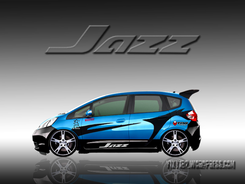 Design modifikasi Honda jazz  Vixy182s Blog