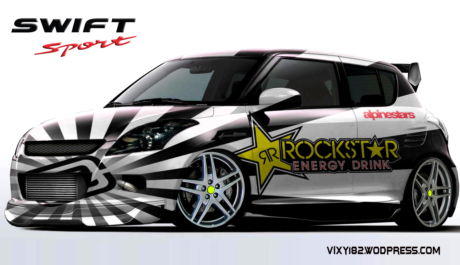 Design modifikasi mobil suzuki swift  Vixy182s Blog