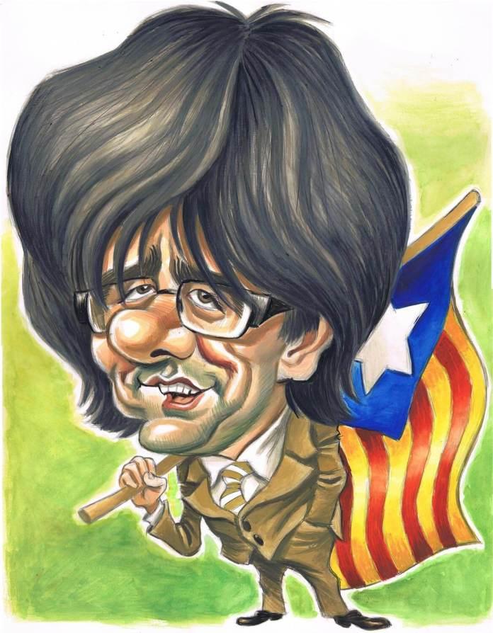 Resultado de imagen para Caricaturas de Carles Puigdemont