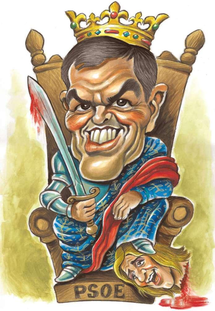 Resultado de imagen para Caricaturas de Pedro Sánchez