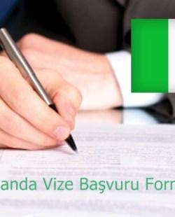 irlanda vizesi başvuru formu
