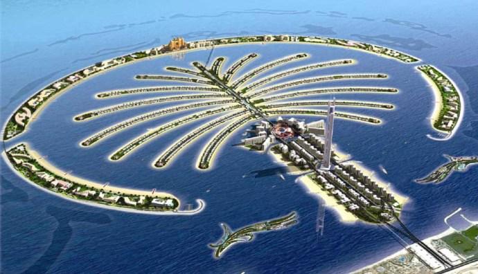 o que fazer em Dubai - Jumeirah Palm dubai
