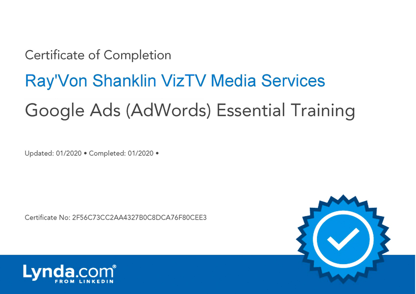 Google Ads (Adwords) Essential Training