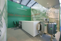 Human resources exhibition stand for leading dairy in Slovenia Ljubljanske mlekarne 5