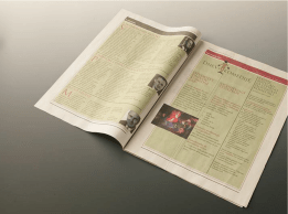 New identity of the festival Days of the comedy - newspaper spread 2