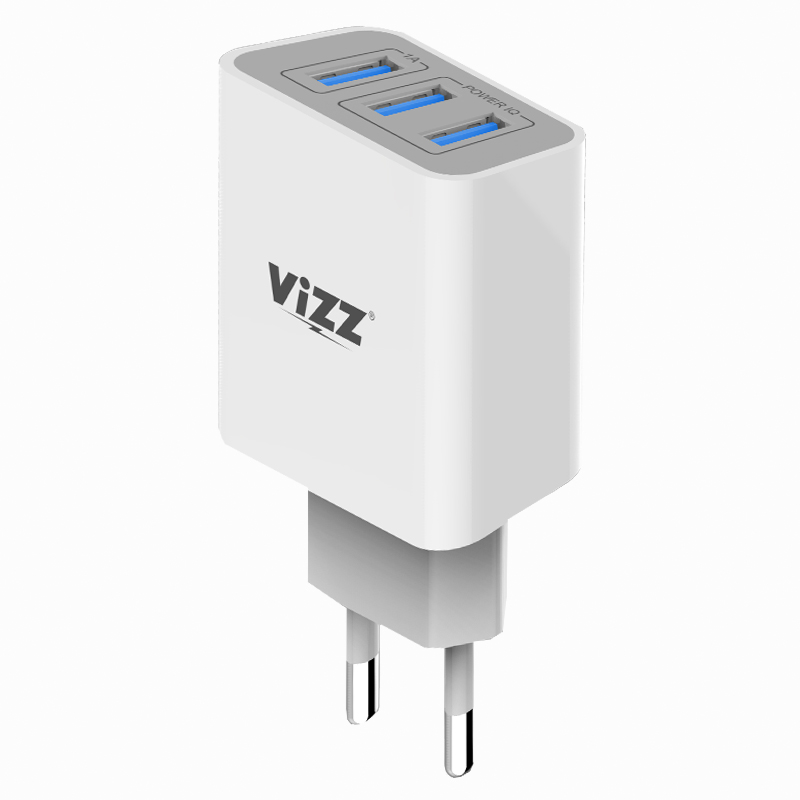 charger vz-139 power iq 3 port fast charging