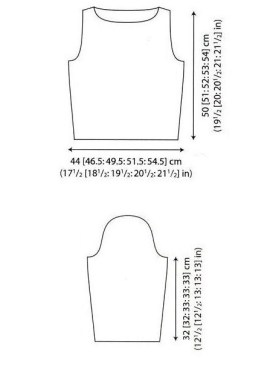Выкройка пуловера