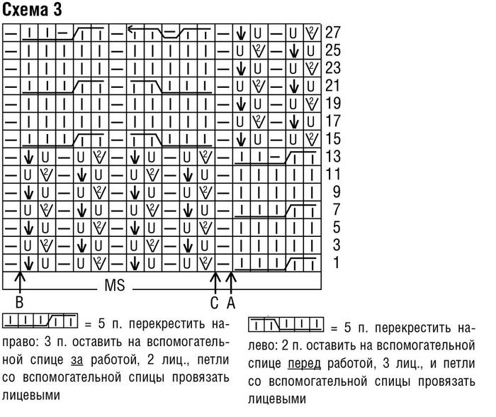 Схема узора 3