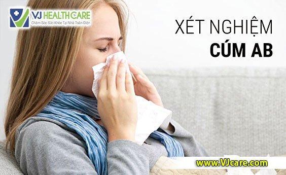xét nghiệm cúm ab xét nghiệm cúm tại nhà tphcm