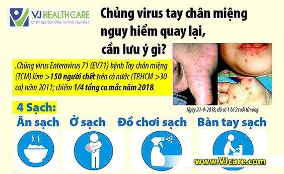 infographic bệnh tay chân miệng dịch tay chân miệng cần lưu những ý gì