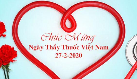 Chuc mung ngay thay thuoc Viet Nam 2020
