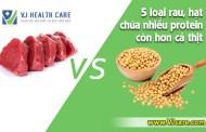 5 loại rau, hạt chứa nhiều protein hơn cả thịt