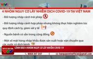 Cảnh báo 4 nhóm nguy cơ lây nhiễm dịch COVID-19 tại Việt Nam