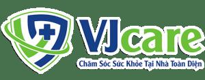 VJcare Chăm sóc sức khỏe tại nhà toàn diện  Đặt hẹn chăm sóc sức khỏe tại nhà logo VJcare 2020  520 300x118