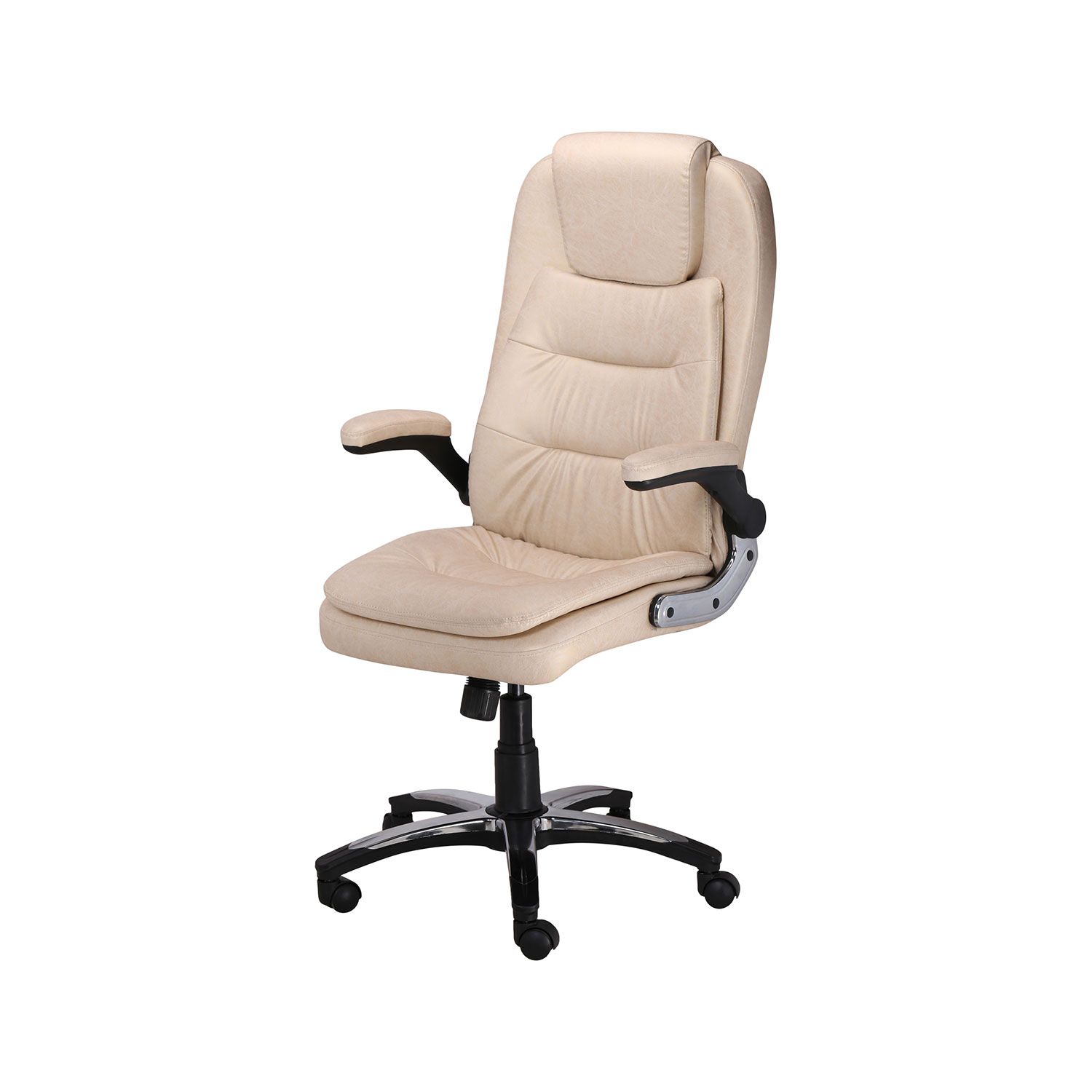Cream Chairs The Largas Executive High Back Chair In Designer Cream