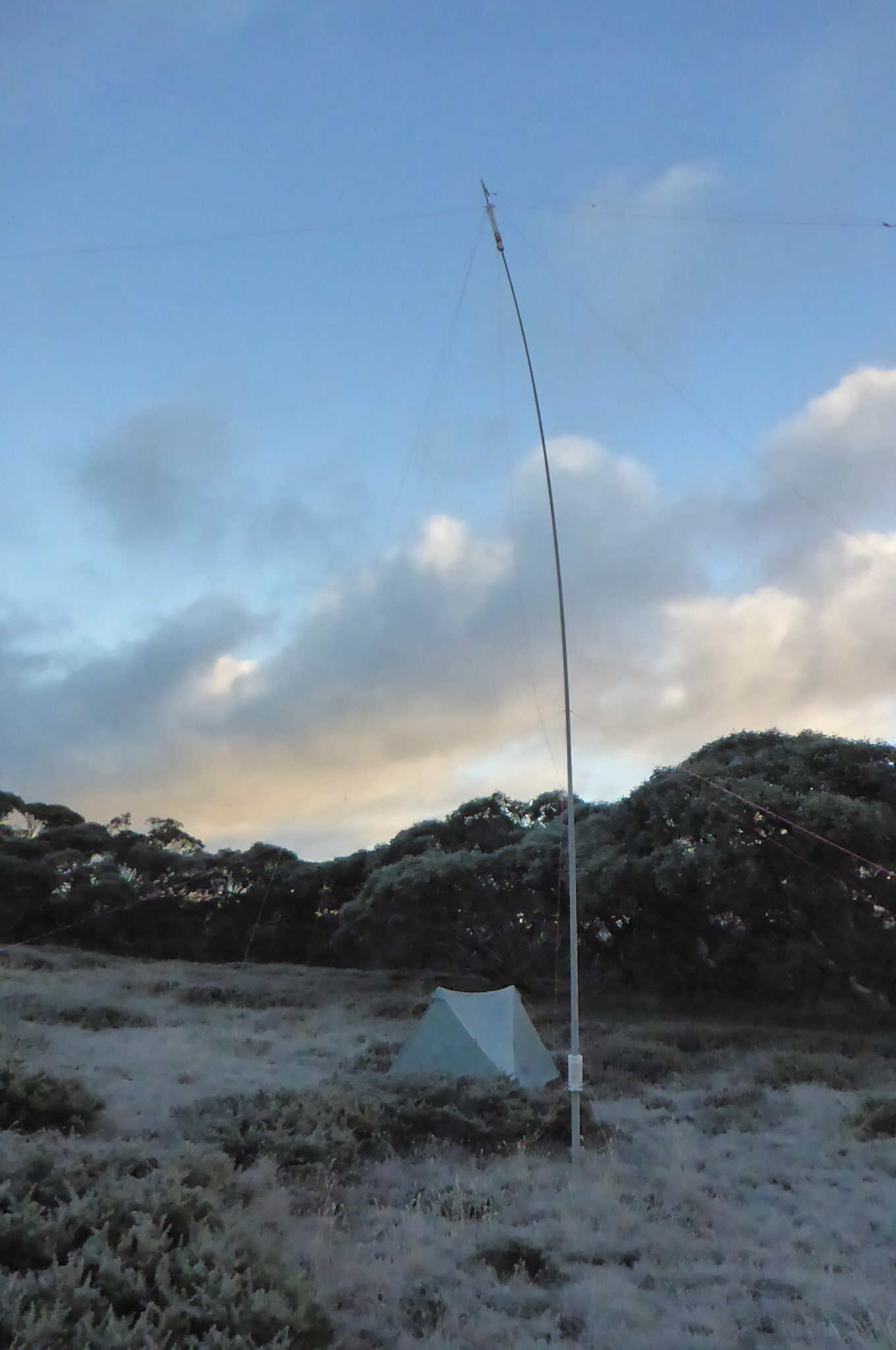 Experiments with 160m antennas | VK3IL Blog