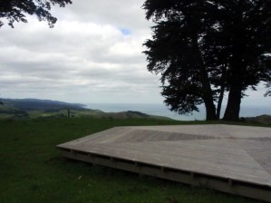 Deck at Crowsnest