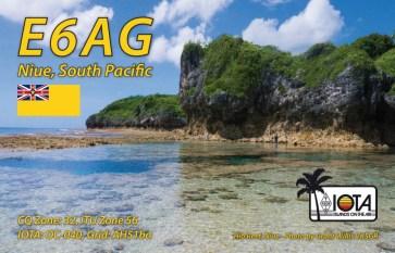 E6AG-QSL Card