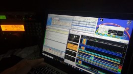 Photo 42 – Working K5RK 160m RTTY
