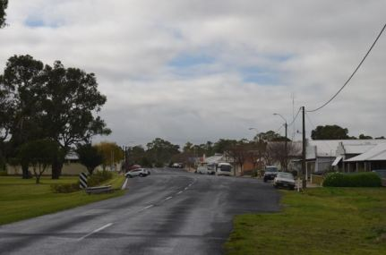 Main street of Lucindale