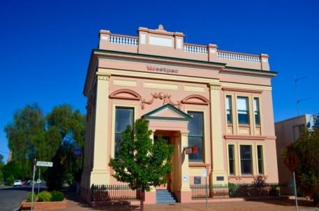 The old Australian Joint Stock Bank, built 1864