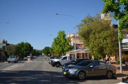 The main street of Hay