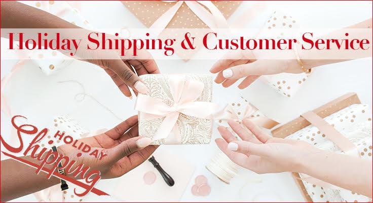 holiday shipping holiday customer service image