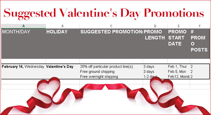 valentine day promotion ideas image