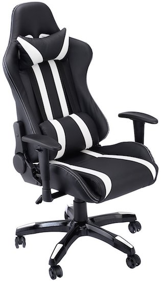 recliner gaming chair upright adirondack 20 best pc chairs february 2019 high ground giantex executive racing style back reclining