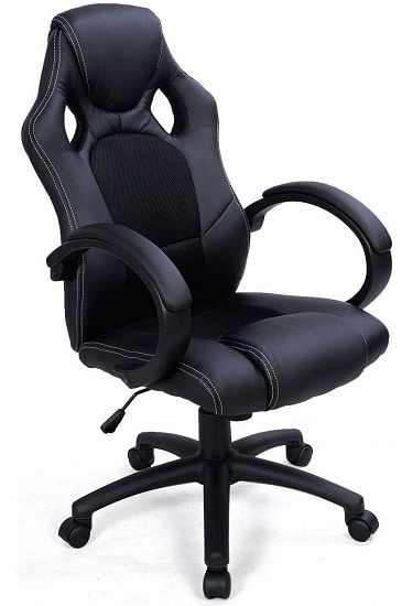 chairs for gaming baby musical chair 20 best pc february 2019 high ground giantex back race car style bucket seat office desk