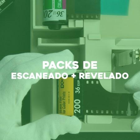 Packs revelado + escaneo
