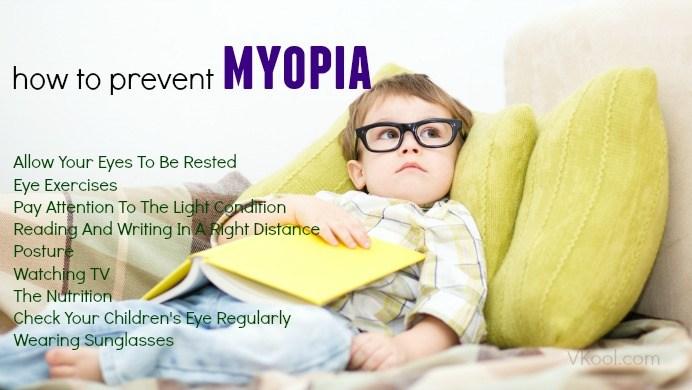 How to prevent myopia in children  9 tips