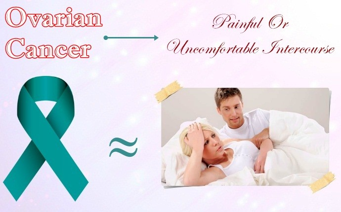 symptoms of ovarian cancer - painful or uncomfortable intercourse