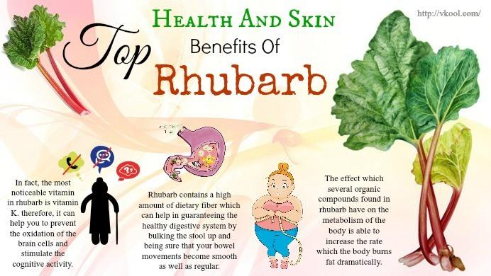 Top 15 Health And Skin Benefits Of Rhubarb
