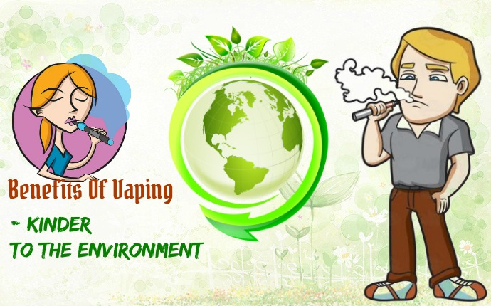 benefits of vaping - kinder to the environment
