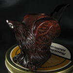 Sculpted Eagle pipe
