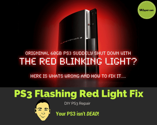 console gaming chair ikea pads ps3 flashing red light: the ultimate solution