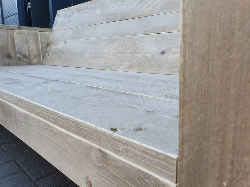 Tuinbank steigerhout