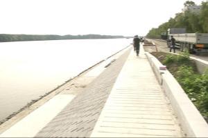 Izgradnja urbane opreme na šetnici uz Dunav