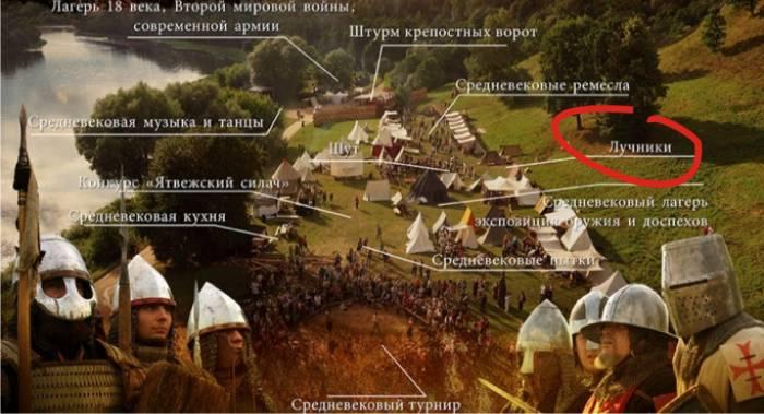 Гунны там, где лучники (фото с сайта мероприятия jotvosvartai.lt)