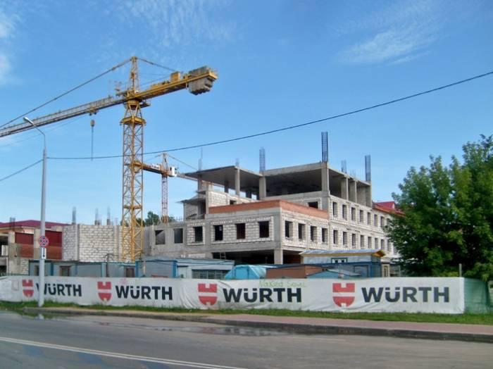 Строительство здания УКГБ по Витебской области