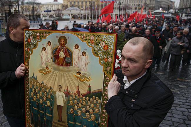 икона сталину