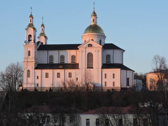свято-успенский собор. витебск