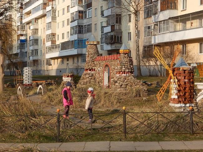 детская площадка, улица Петруся Бровки